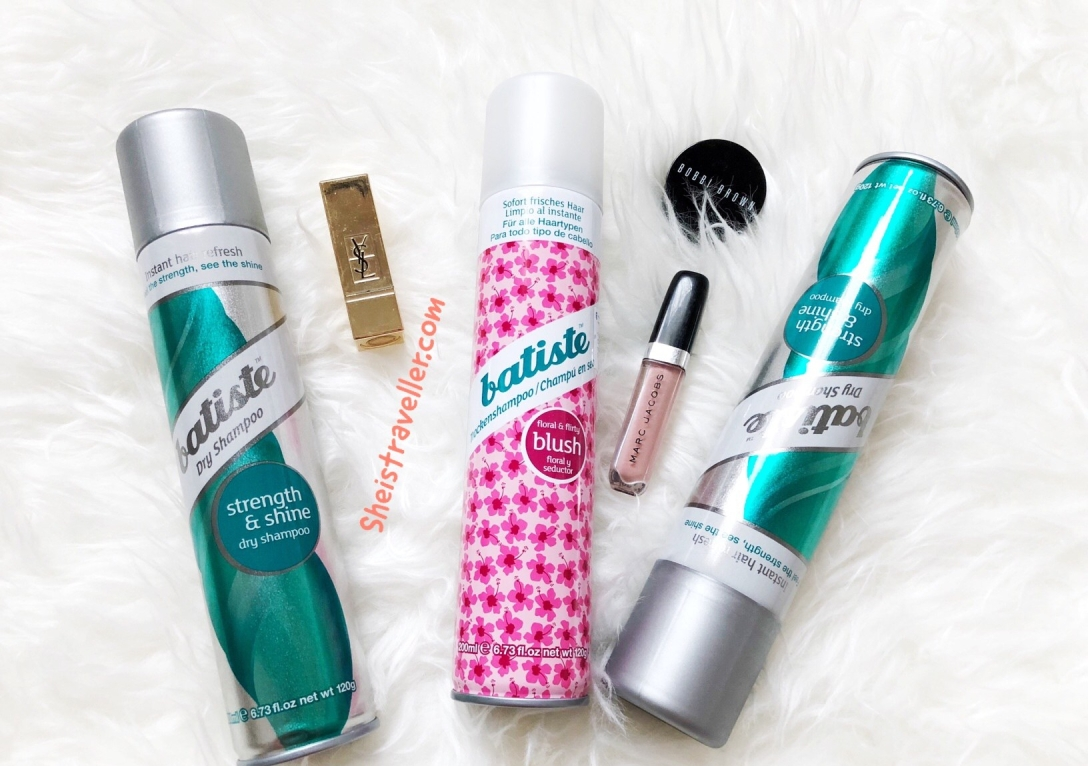 Batiste Dry Shampoo Review She Is Traveller 200 Ml