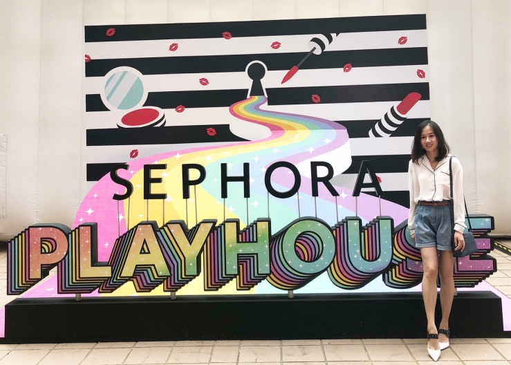 Immersed Yourself In 9 Themed Room Sephora Playhouse-Kat Von D-Urban Decay-Fresh-Benefit