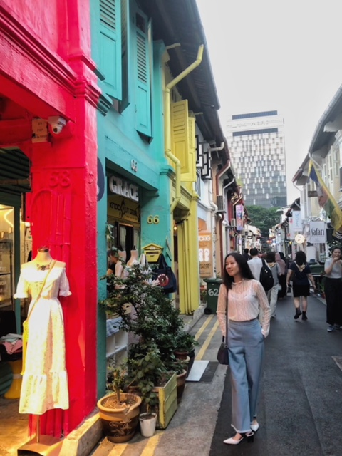 Easy Outfit Ideas For Your Night Out and Hypster Places To Chill Out-Haji Lane-Arab Street-North Bridge-Bugis-Singapore