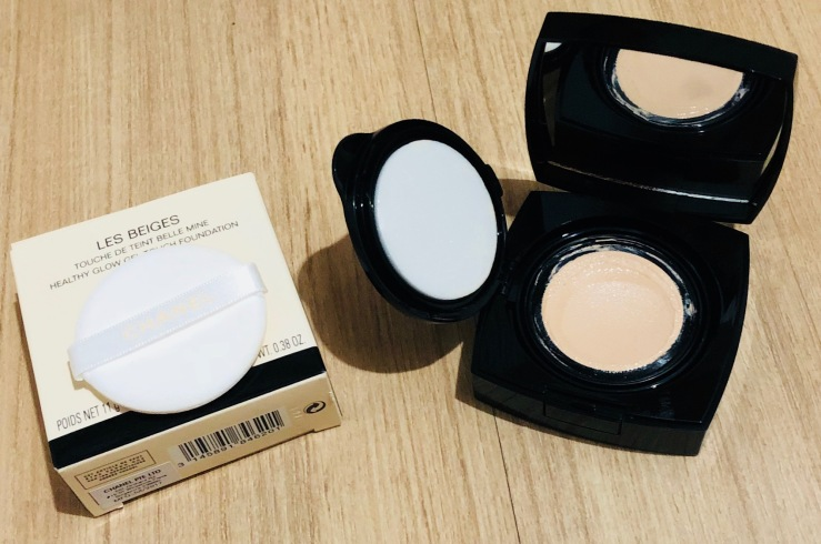 Foundation Review; Chanel Les Beiges Healthy Glow Gel Touch Foundation SPF 25/PA++