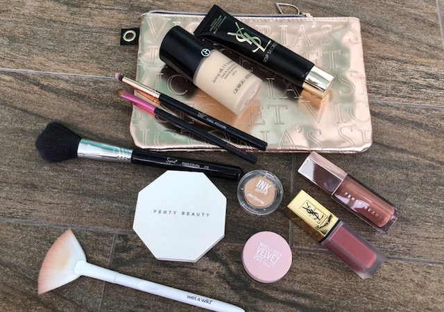 September;What Is In My Everyday Makeup Bag-Giorgio Armani-YSL-Lip Stain-Nude Emblem-Top Secret-Peripera-Fenty Beauty
