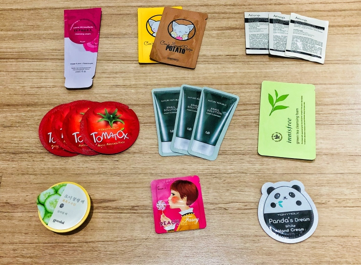 """Sample Project Review"" Part I [Cleansing-Mask-Hand Cream]-Sephora-Coco's Secret Recipes-Aesop-Tony Moly-Nature Republic-Innisfree-Goodal-Tina's hand Cream"