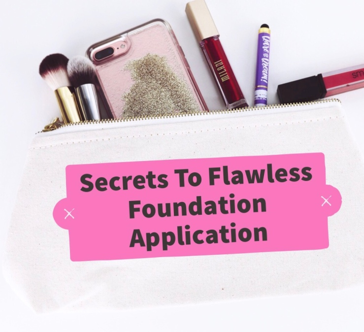 Secret To Flawless Foundation Application