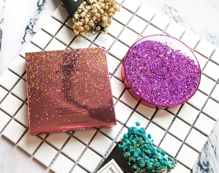 Head Over Heels With This Magical & Glitter Tarte Love,Trust, and Fairy Dust Palette [Review] - Sephora - Sephora US - Tarte Cosmetic - Eyeshadow Palette